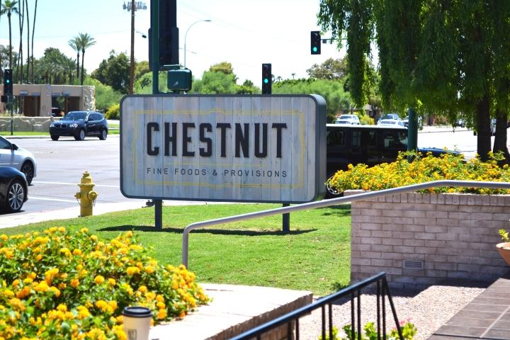 Chestnut Street Sign