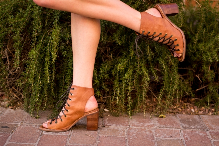 9 free people booties lace up ankle