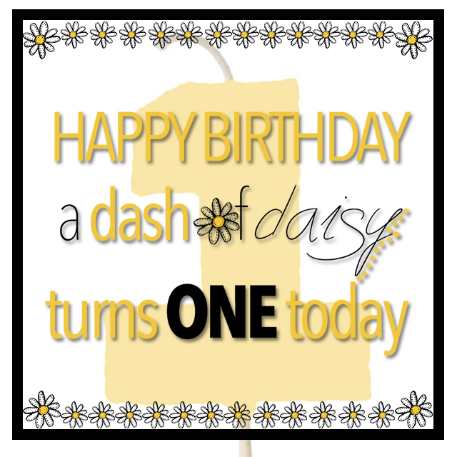 Happy Bday Dash of Daisy