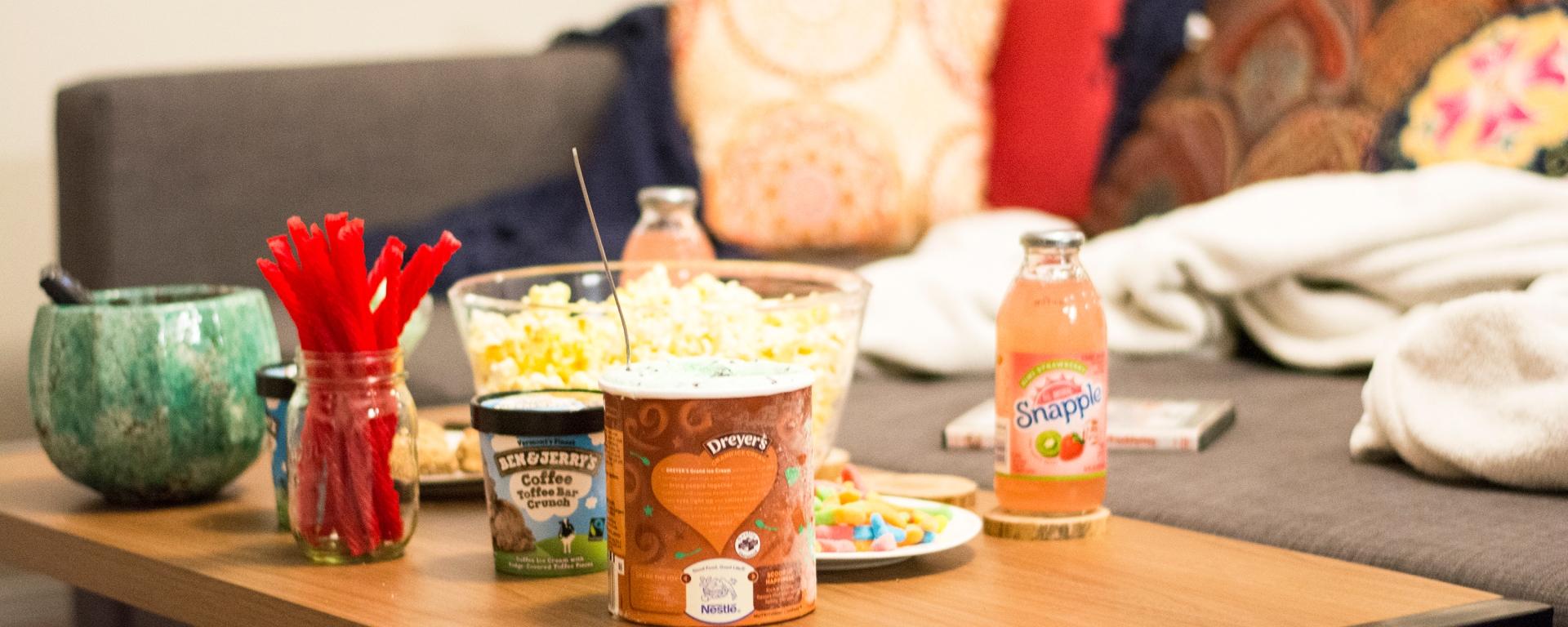Movie Night Essential Snacks dash of daisy blog taylor seely