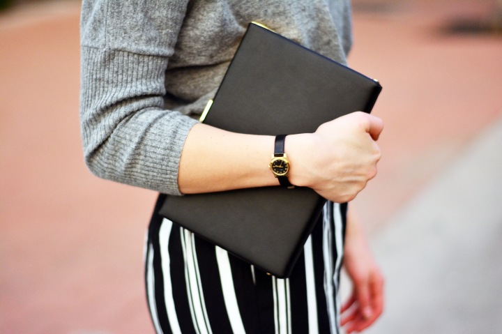 clutch and watch details
