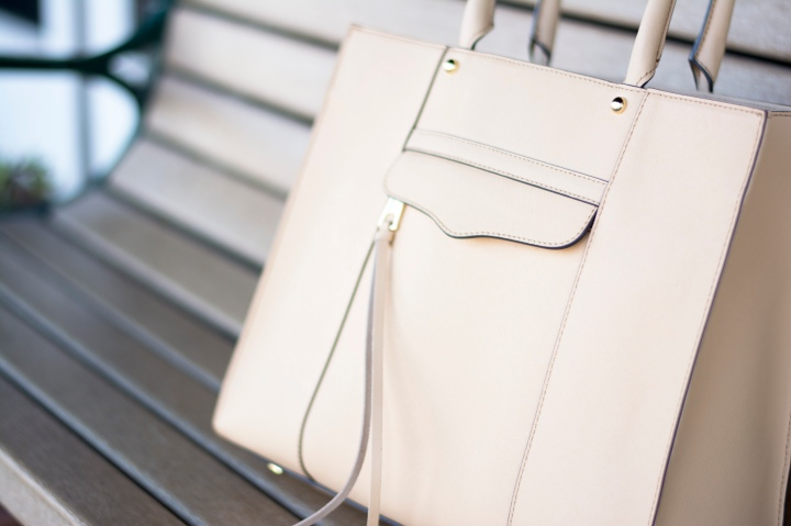 Rebecca Minkoff purse from Dash of Daisy blogger Taylor Seely