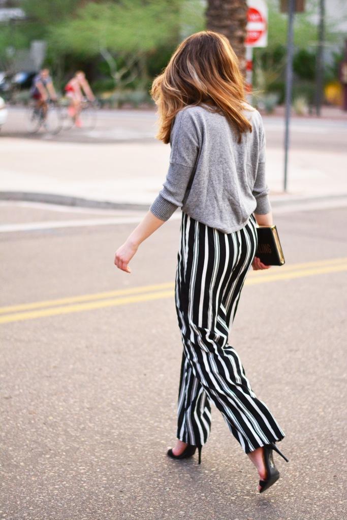street style walking away