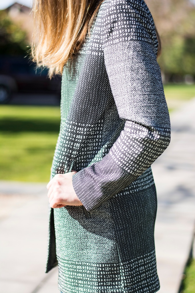 hm pattern coat