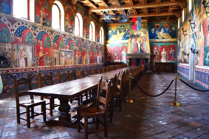 Castello di Amorosa Dining Room