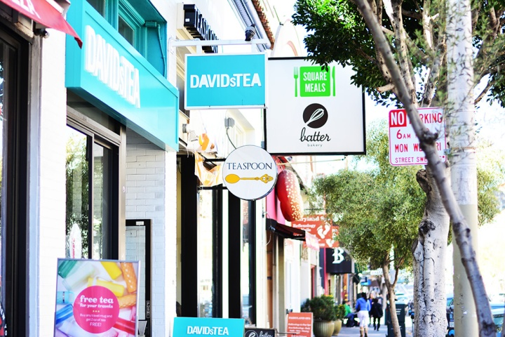 Davids Tea & Batter Bakery in downtown San Francisco Dash of Daisy Blog