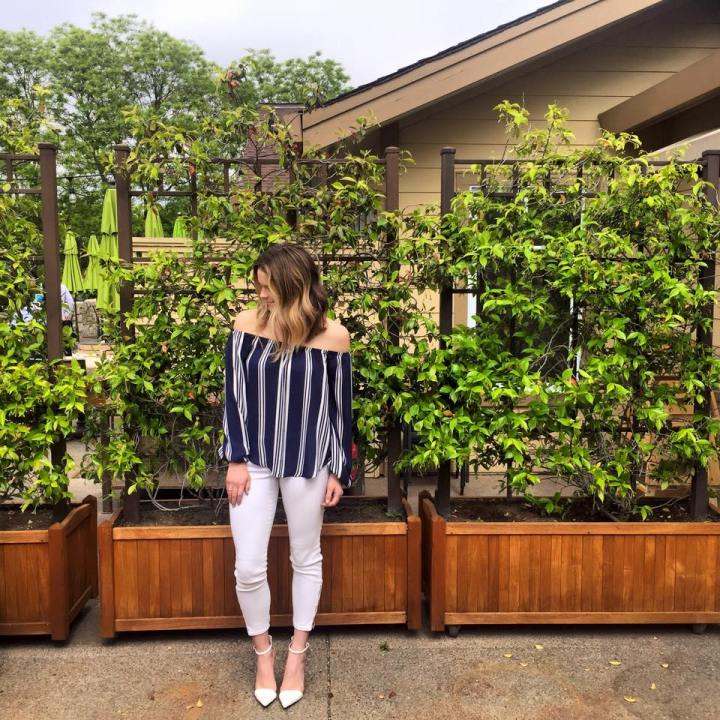 Taylor Seely Dash of Daisy Blog at Brix Bunch in Napa Valley