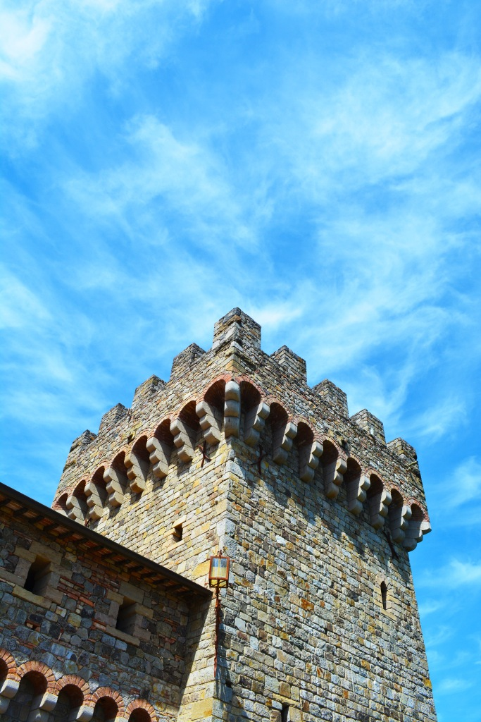 Top of Castello di Amorosa