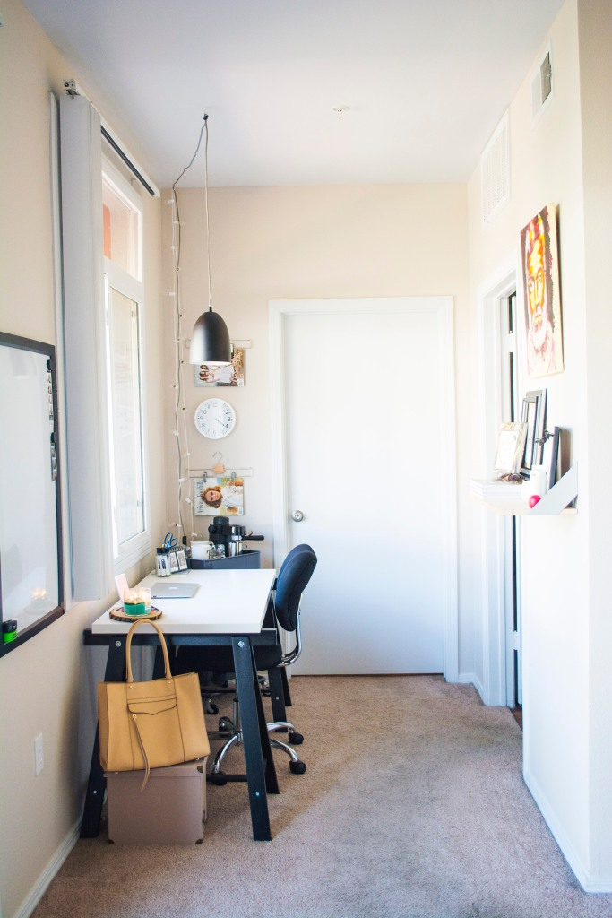 Apartment Office_Hallway Office_Decor_Ikea_Target Style_Rebecca Minkoff_Taylor Seely_Dash Daisy Blog