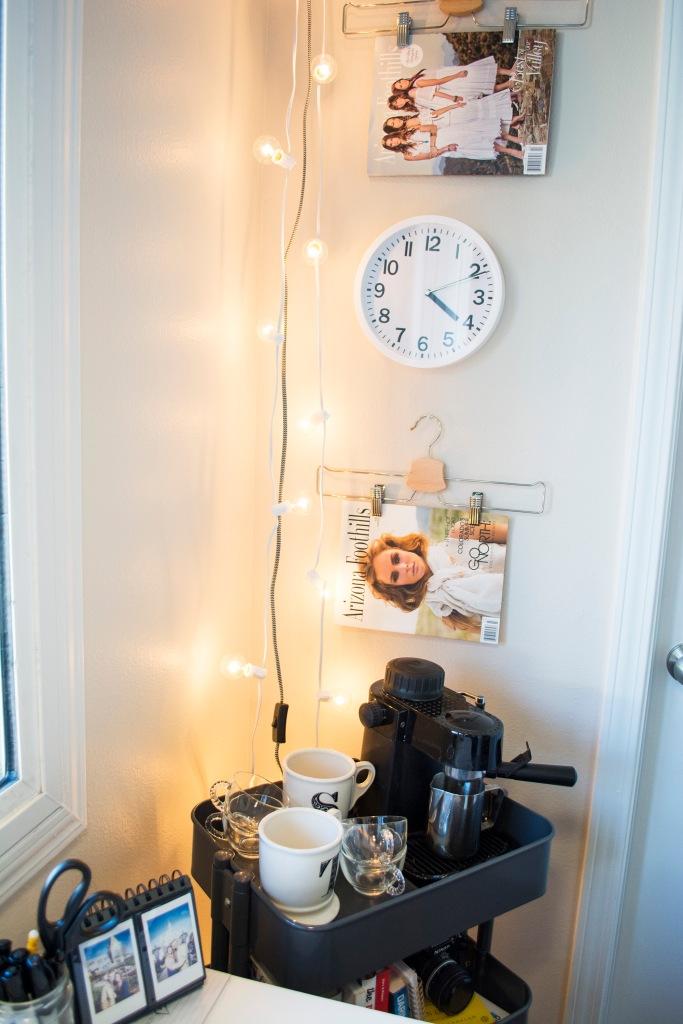 Ikea Raskog Cart Target String Lights_Apartment Office Decor_Taylor Seely_ Dash of Daisy Blog