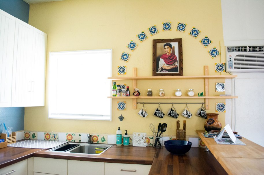 Frida-Kahlo-Kitchen-AirBNB-Review-San-Diego-CA